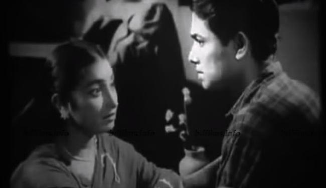 খান আতাউর রহমান ও সুমিতা দেবী, মুভি 'কখনও আসেনি' (১৯৬১), ছবি: পিন্টারেস্ট
